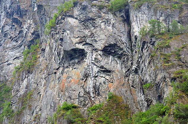 the face geiranger norway