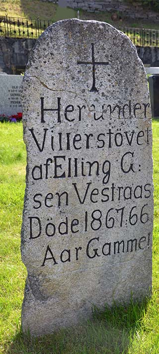 headstone norway