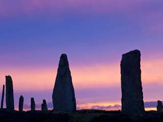 The Ring of Brodgar Standing Stones Orkney Islands Scotland