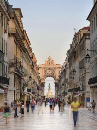 Rua Augusta, Baixa, Lisboa, Portugal