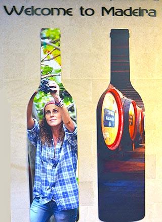 wine bottle funchal portugal