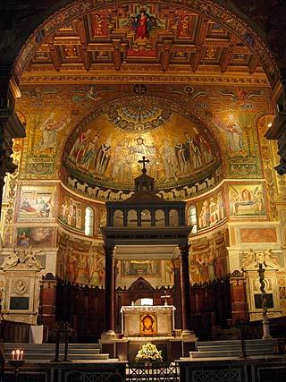 Santa Maria In Trastevere Rome Italy