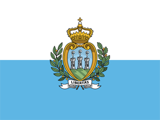 San Marino war flag