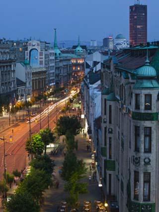 Kralja Milana Street, Belgrade, Serbia