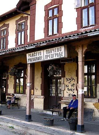 Pancevo railway station