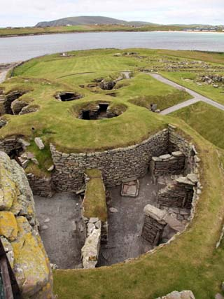 Prehistoric Site of Jarlshof Has Evidence of Human Habitation over More Than 3000 Years, Sumburgh,