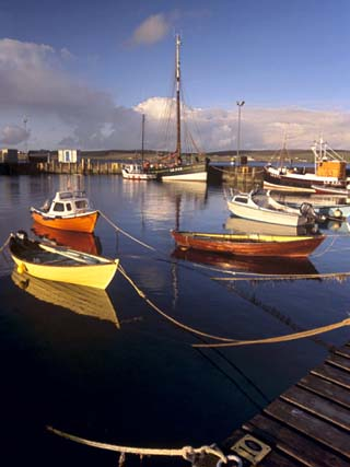 Lerwick Harbour, Mainland, Shetland Islands, Scotland, United Kingdom, Europe