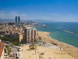 La Barceloneta, Platja De La Barceloneta, Barcelona, Spain