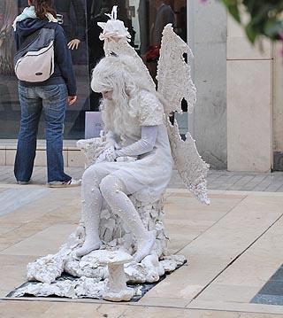spanish street performer