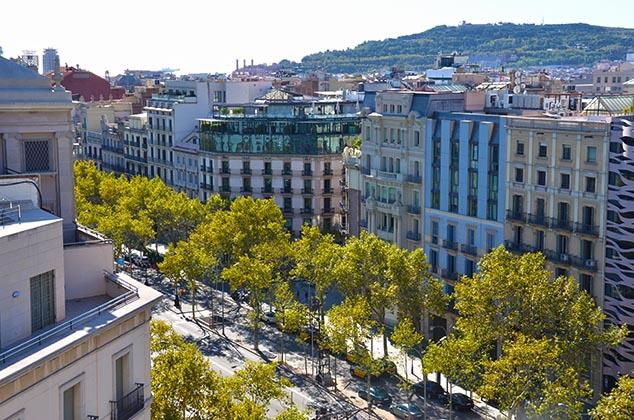 city street barcelona