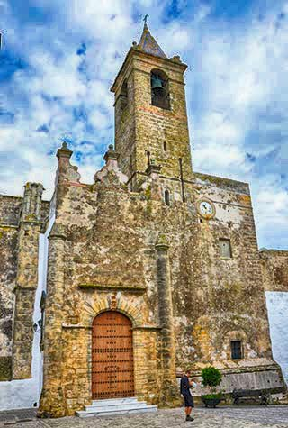 church in Vejer de la Frontera spain