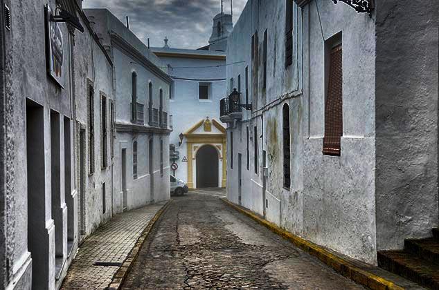 street in Vejer de la Frontera spain
