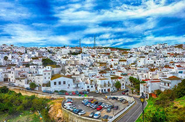 white house of Vejer de la Frontera spain