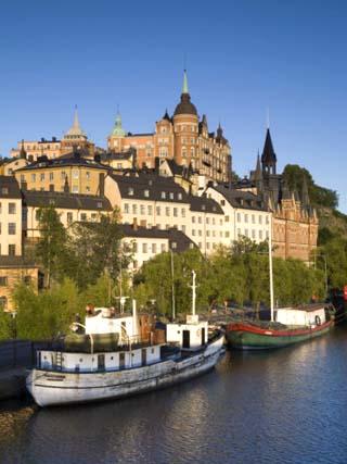 Soder Malarstrand, Stockholm, Sweden
