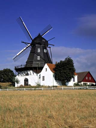 Windmill at Skane, Sweden