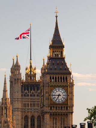 Houses of Parliament and Big Ben, Westminster, UNESCO World Heritage Site, London, England, Uk