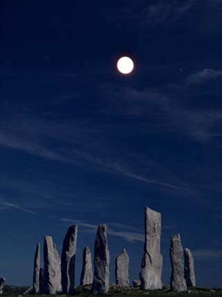 Standing Stones, Callanish, Isle of Lewis, Outer Hebrides, Scotland, United Kingdom
