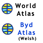 World Atlas welsh language