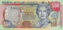 50 bermudian dollars