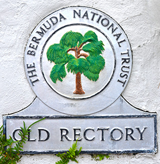 old rectory sign