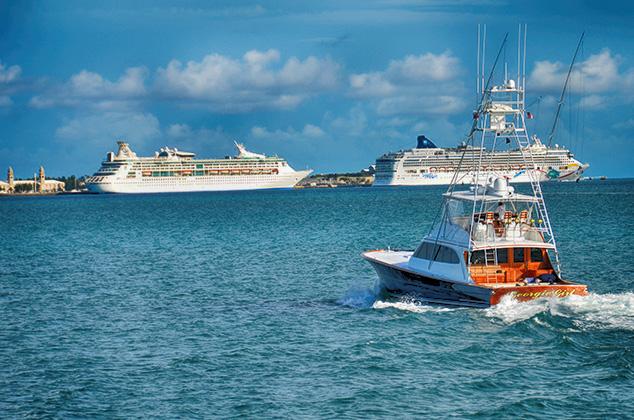 cruise ships in bermuda