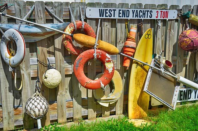 nautical items bermuda