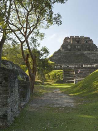 El Castillo Pyramid, Xunantunich Ancient Site, Cayo District, Belize