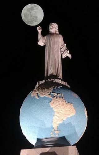 the savior of the world monument san salvador