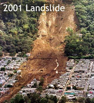 2001 landslide