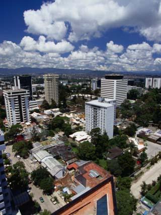 High-Rises in Downtown, Guatemala City, Guatemala