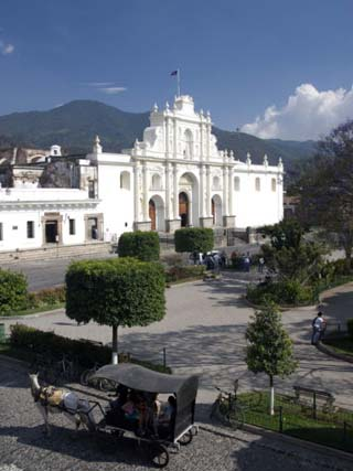 The Cathedral of San Jose, Antigua, UNESCO World Heritage Site, Guatemala, Central America