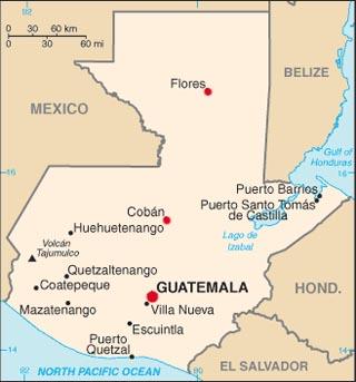 guatemala lat log