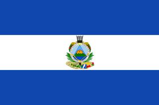Guatemala flag 1838 - 1843
