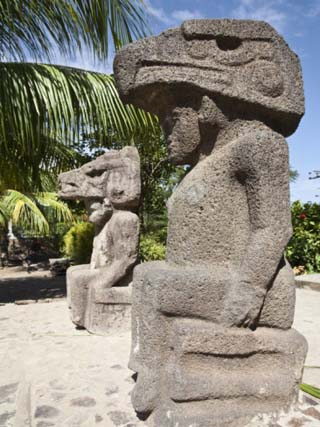 Ancient Statues, Altagracia, Ometepe Island, Nicaragua, Central America