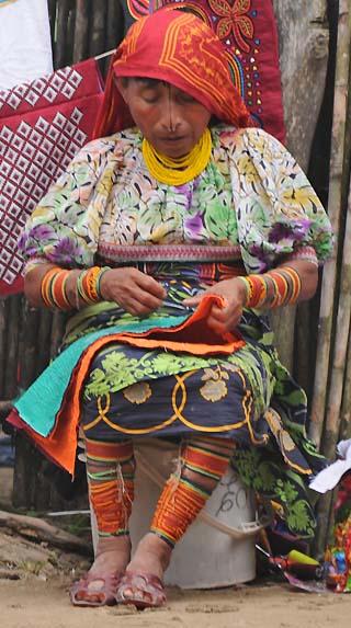 woman san blas islands