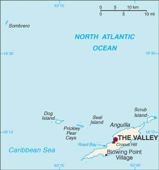 Anguilla latitude and longitude map