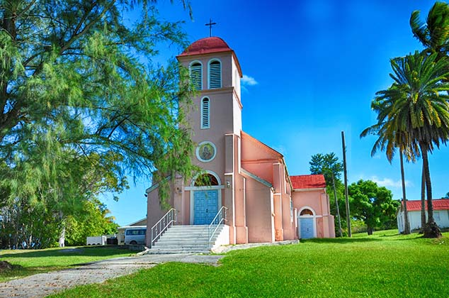 church on antigua