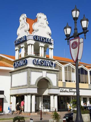 Crystal Casino, Oranjestad City, Aruba, West Indies, Caribbean, Central America