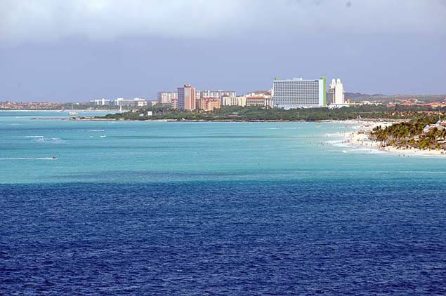 aruba waters