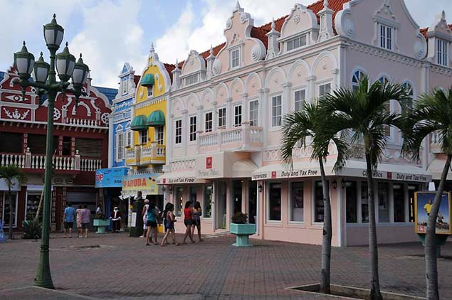 aruba buildings