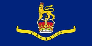 Governor Flag of Barbados