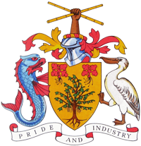 Barbados coat of arms