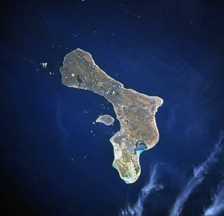bonaire from space