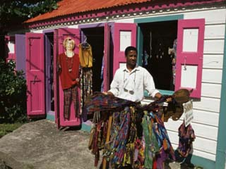 Small Colourful Boutique, Road Town, Tortola, British Virgin Islands
