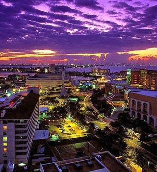 Map Of Cancun Caribbean Island Maps Cancun Map Information