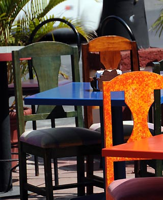 restaurant chairs cancun