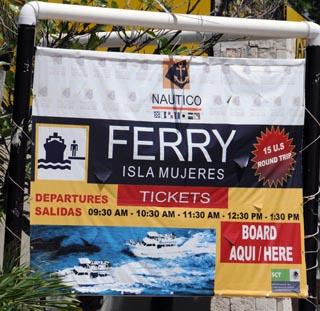 a ferry to isla majures