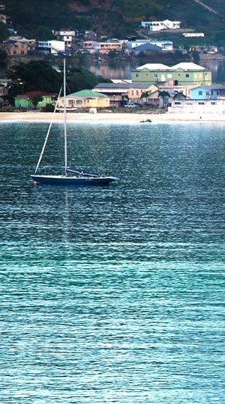 sail boat st. martin