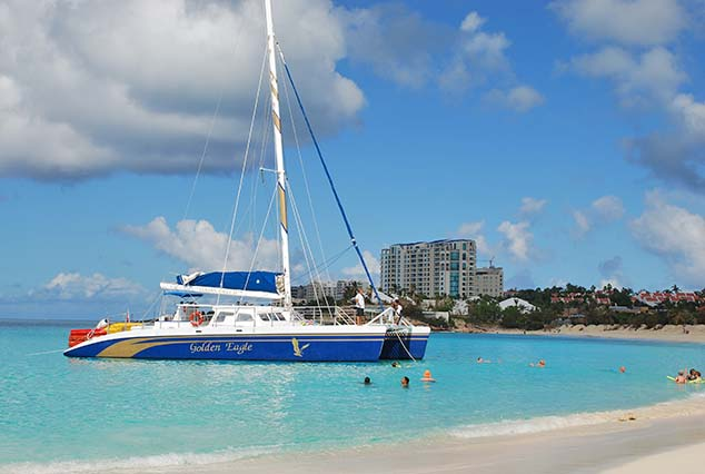 sailboat sint maarten