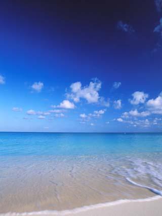 Grand Cayman, Cayman Islands; Caribbean at Seven Mile Beach and Ocean
